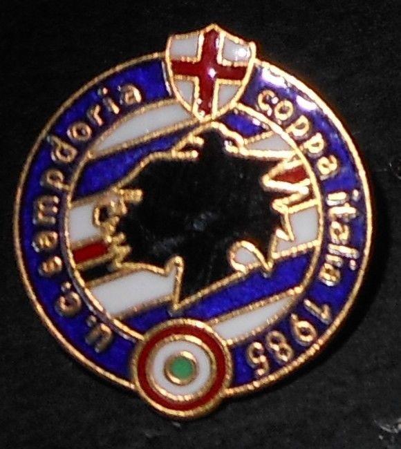 dstintivo pin spilla anstecknadel insigne badge calcio U.C. SAMPDORIA
