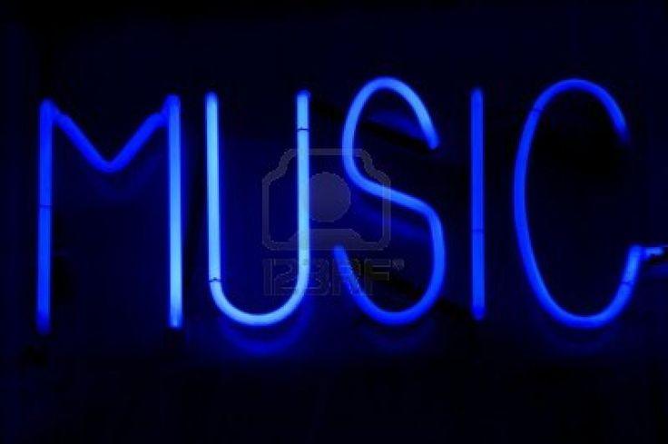 Neon Backgrounds | Neon Light Music Blue Wallpaper - Musics Wallpaper