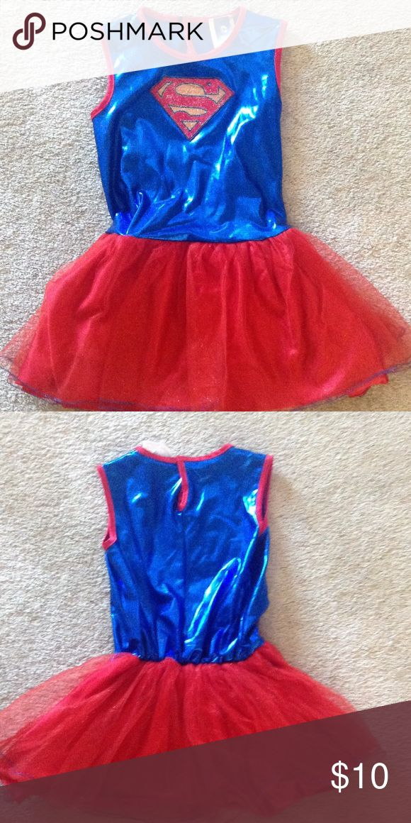 Super girl costume! Size 5-6 girls costume... Cute! Costumes Halloween