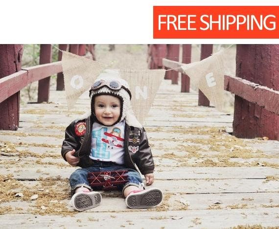 94043e9d6 Crocheted Baby Aviator Hat with Goggles Natural #accessories #hat ...