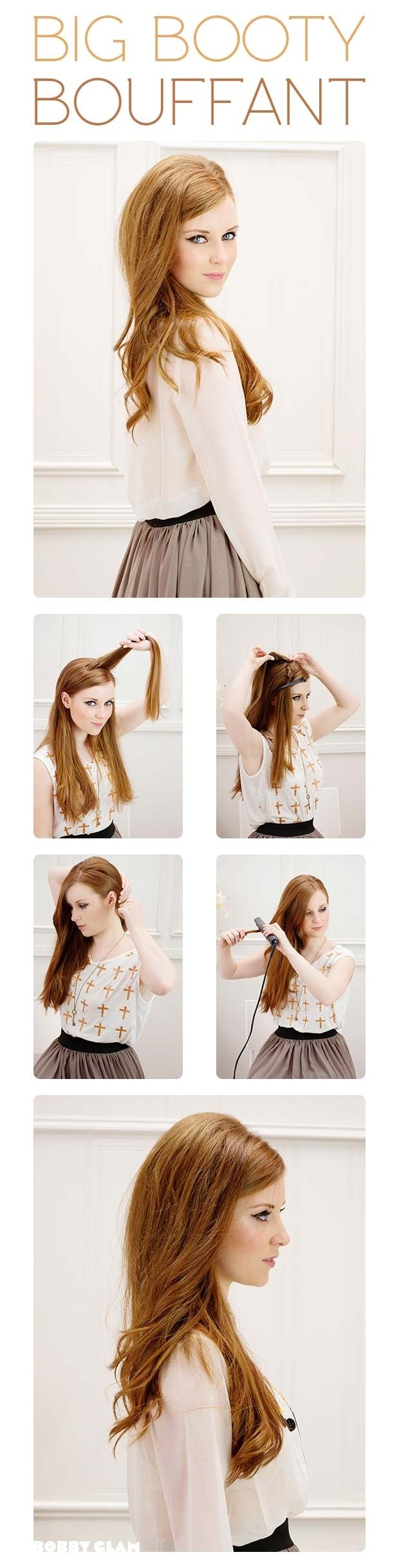 I love this hairstyle, however I'm cracking up at the instruction pictures.