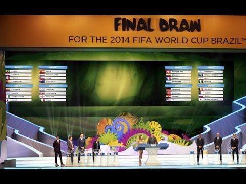 Hasil Drawing Pembagian Grup Piala Dunia Brazil 2014
