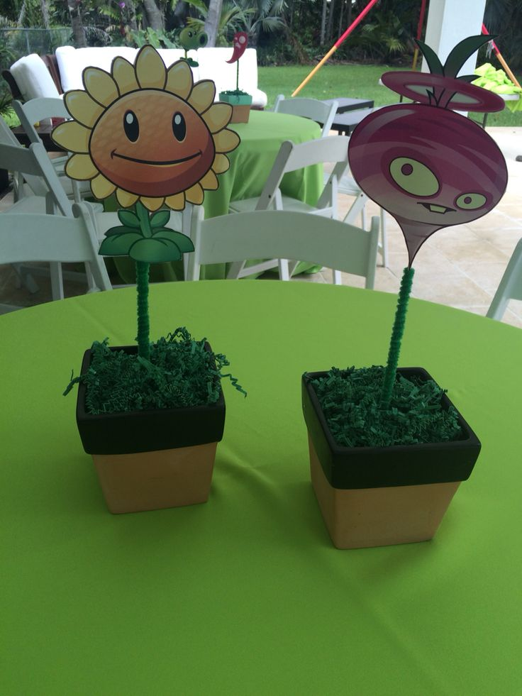 Best images about plants vs zombies party on pinterest