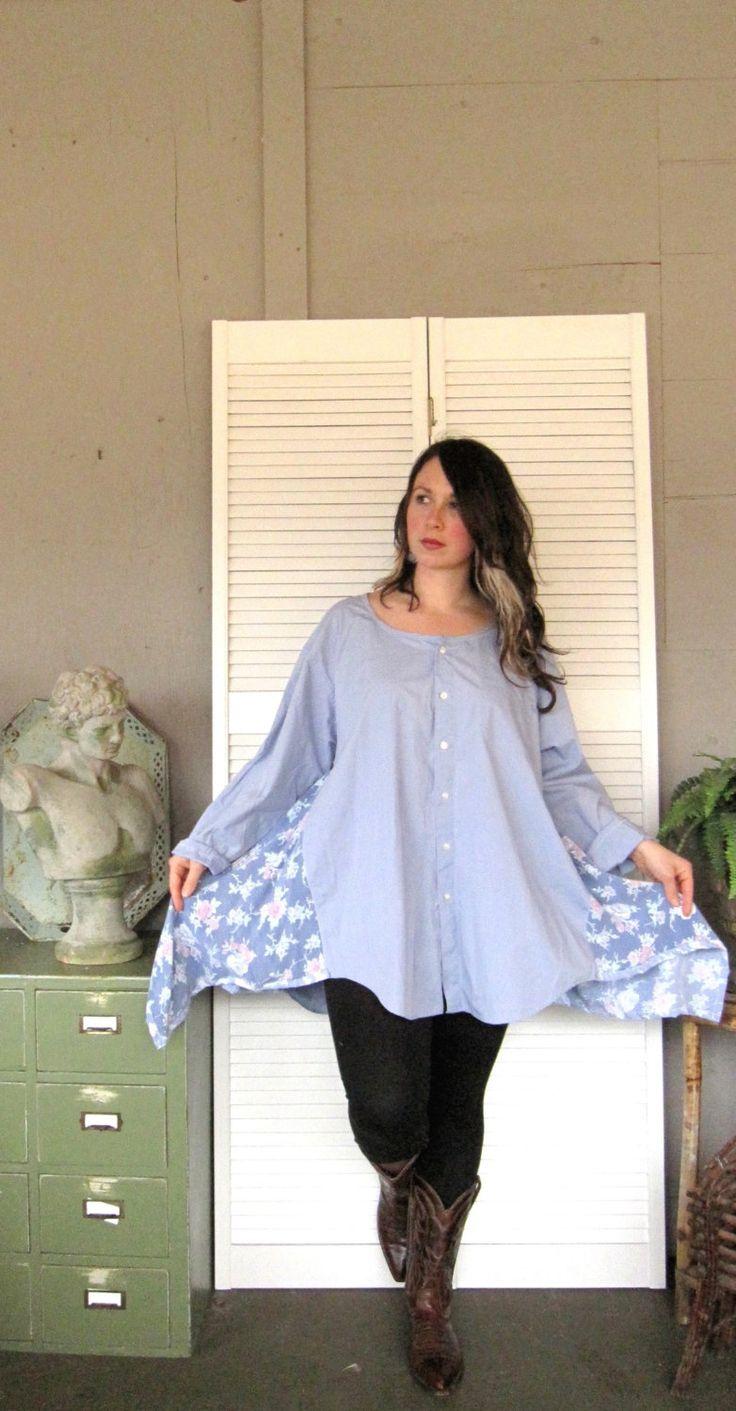 Lagenlook - www.etsy.com funky shirt dress *~<3*Jo*<3~*