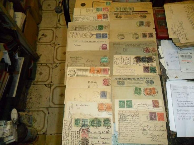 Francobolli lettere germania antica