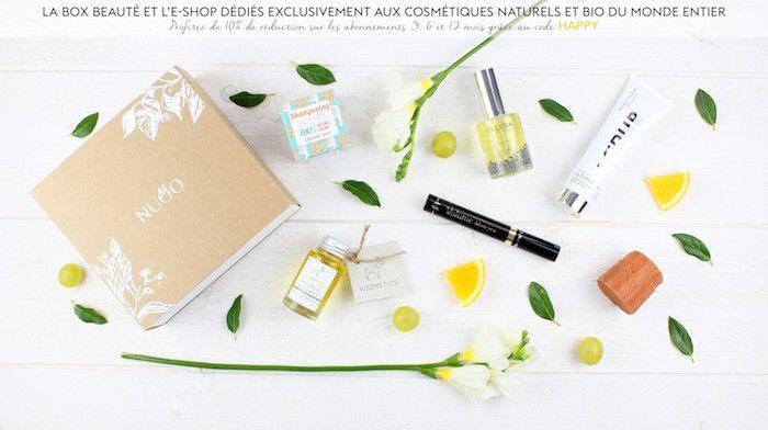 Concours : gagnez 3 box beauté bio NUOO pour l'anniversaire de la marque