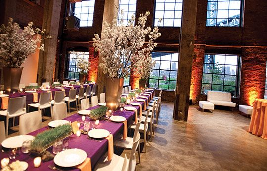 Smack mellon brooklyn new york wedding guide the for Wedding venues near york