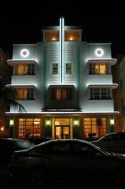 Miami Art Deco // McAlpin Hotel, Miami, Florida.