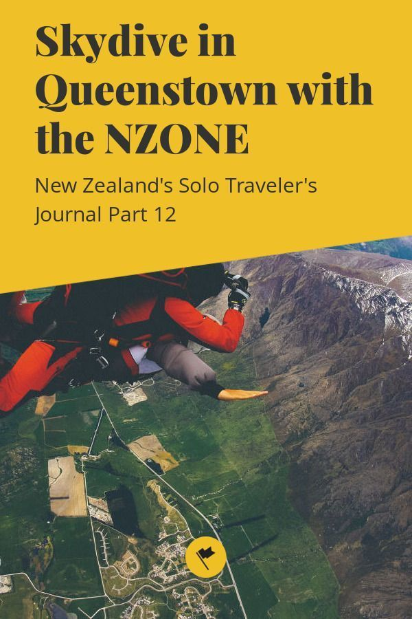 Skydiving In Queenstown New Zealand With Nzone Looking For A Place For Your First Skydive Make It New Zealand Queenstown Queenstown New Zealand Skydiving