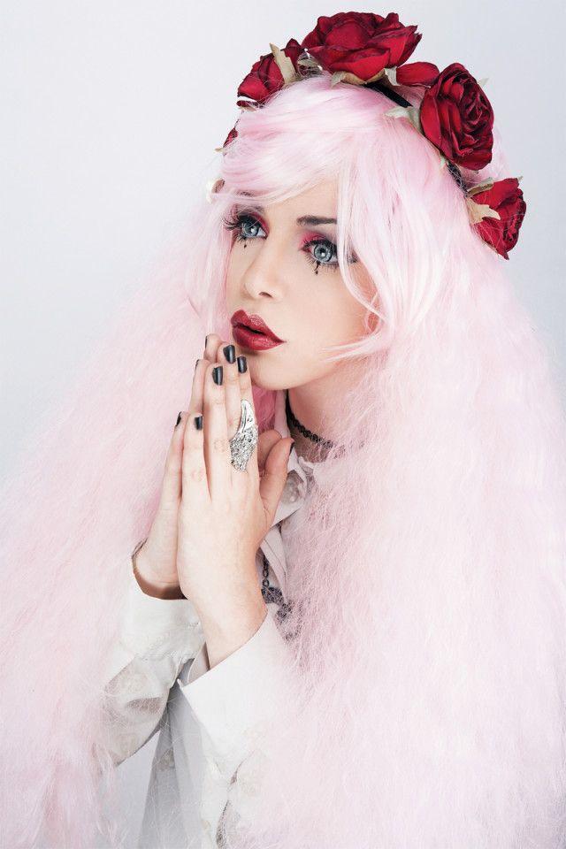 Mor Shaashoua - Topaz Arbell - mua Anna Lev - Holy Pastel Goth