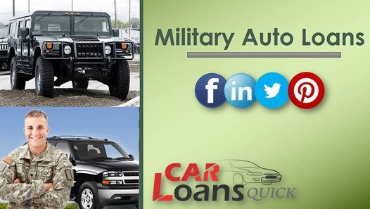auto loans for military members