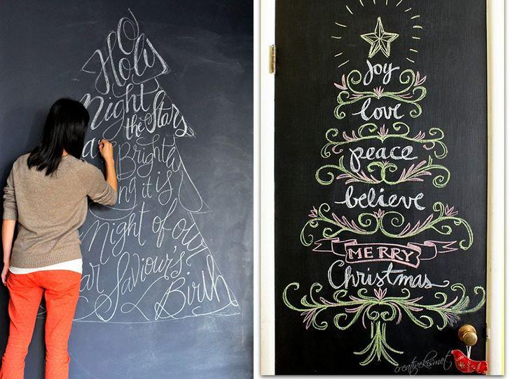 Árvores de Natal criativas que você mesma pode fazer! - Casinha Arrumada