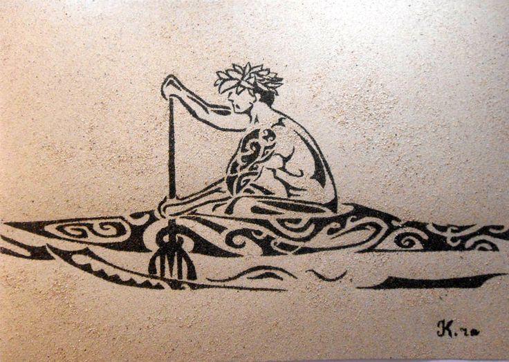 tableau de sable va 39 a tableau de sable outrigger canoe hawaiian designs et polynesian designs. Black Bedroom Furniture Sets. Home Design Ideas