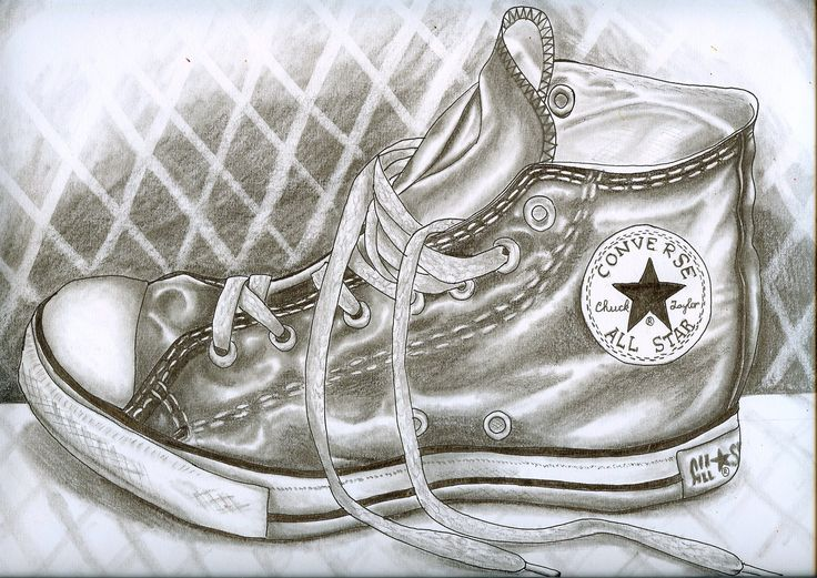 Converse shoe by ~winthersanna on deviantART