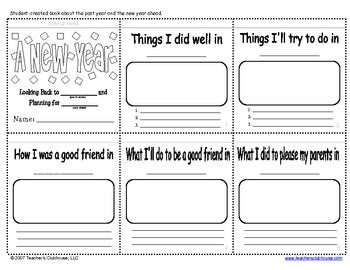 New Year Book $0: Students Create, Previous Years, Years Activities, Years Books, Calendar Years, Winter Classroom, Classroom Ideas, New Years, Years Booklet
