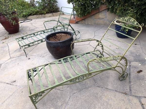 My New Chaise I Purchased Today 10 30 2018 Wrought Iron Patio
