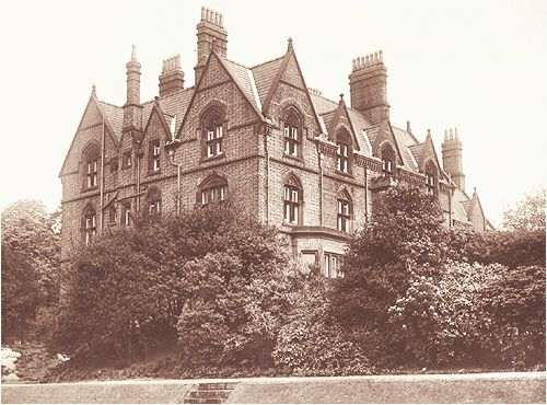 The Salvation Army children's home at Strawberry Field near John Lennon's childhood home in Woolton. The house opened on July 7, 1936 and was demolished by 1973.