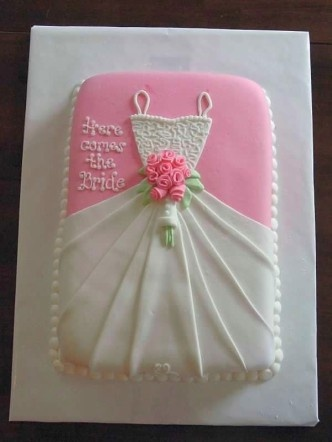 Great bridal shower cake!