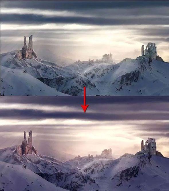 Создаем пейзаж с руинами в Adobe Photoshop