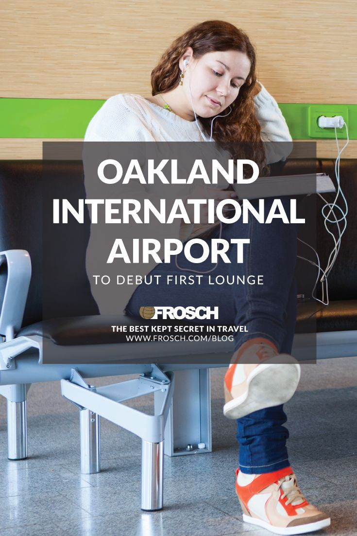Oakland International Airport To Debut First Lounge