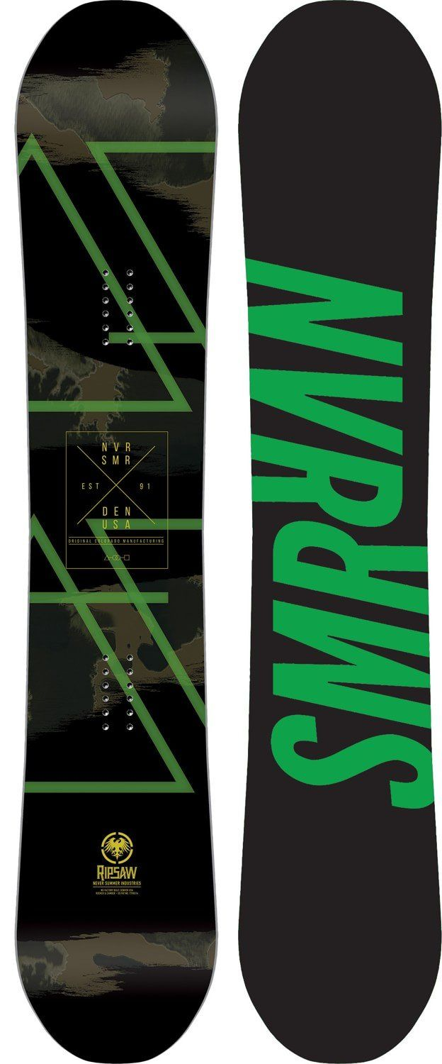 Never Summer Ripsaw Snowboard - 156 (2018)