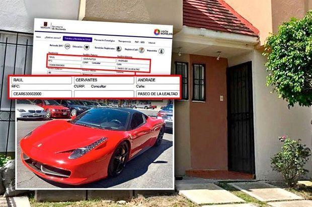 Alega Cervantes 'error administrativo' por Ferrari [Nacional] - 04/09/2017 | Periódico Zócalo