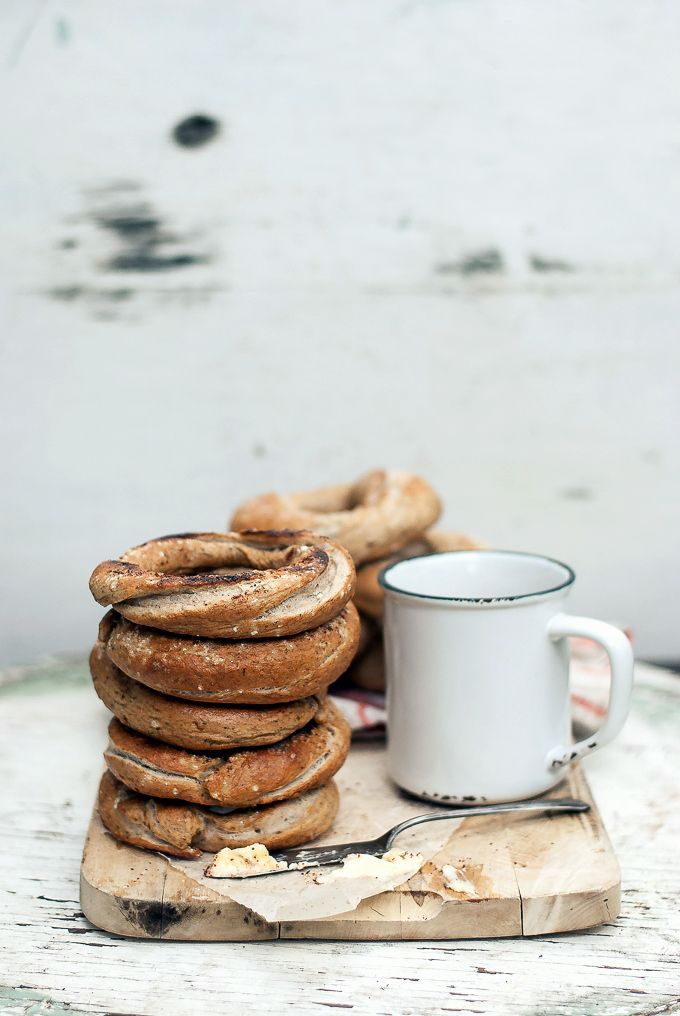 Montreal-style Whole Wheat Za'atar Bagels via BAKED - the blog