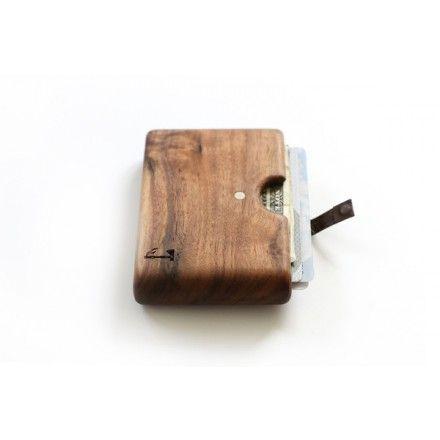 Walnut Wood Wallet