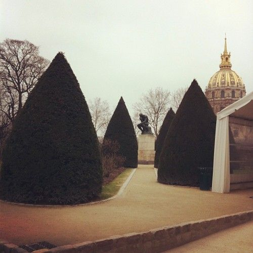 Musee Rodin. Beautiful and romantic. Would return in a minute.