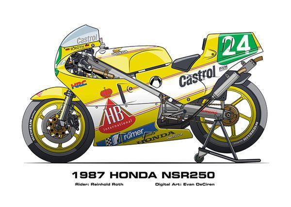 Honda nsr 250 '87