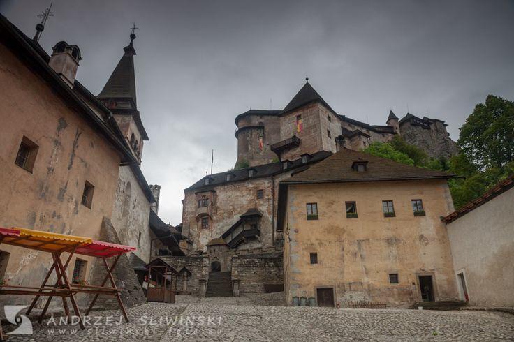 Oravský Podzámok - the village in Slovakia where Orava Castle is located