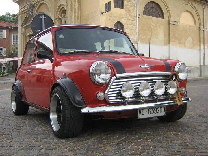 I know Mini Cooper are popular cars but I've always wanted classic little tiny one
