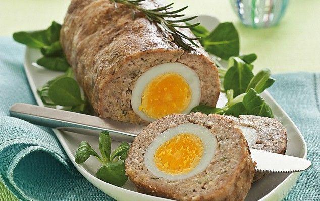 Φτιάχνουμε βήμα βήμα ρολό με κιμά και σφιχτά αυγά - iCookGreek