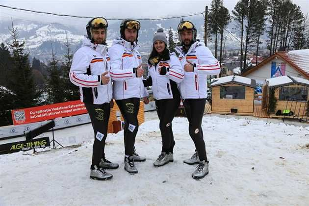 Sportivii Anisoara Hutopila, Adrian Filimon, Bogdan Morosan si Ciprian Tazlaoanu au ocupat locul 4 la Campionatul Mondial de Sanie pe pârtie naturală de la Vatra Dornei