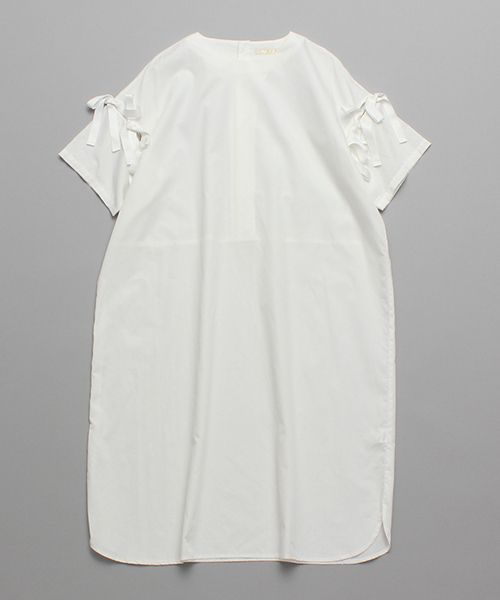AMBIDEX Store ○50ブロード 袖リボンワンピース②(F グリーン): l'atelier du savon