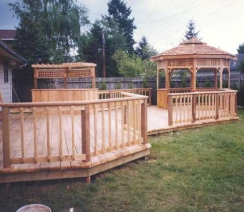 Home Deck Design Ideas: House Plans And Home Designs