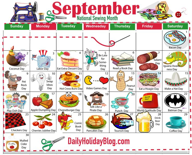 For Subscribers! Holiday calendar, National day calendar