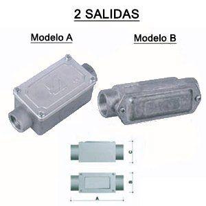 CATÁLOGO DE CAJAS DE DERIVACION ALUMINIO-SALIDA ROSCADA - Gaestopas