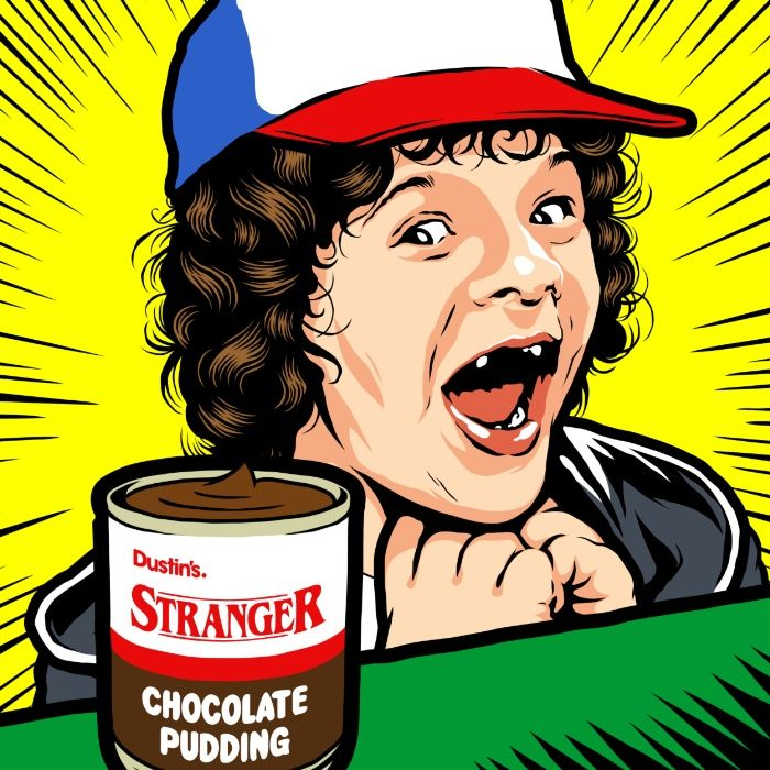 """coolpops: """"  Stranger Pudding by Butcher Billy - Buy HERE """""""