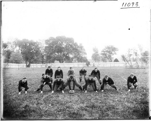 Miami University starting football team and coach 1911    #miamioh #football
