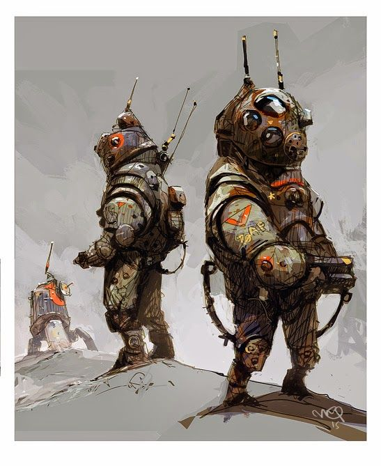 Bubble Boys - warIAN MCQUE | CONCEPT ART