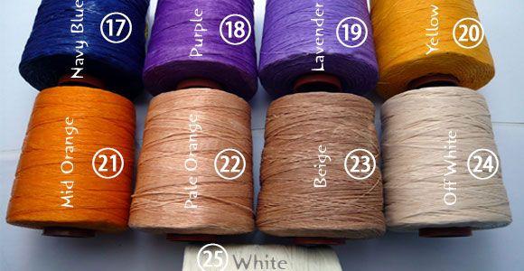 蝋引き紐 1mm ワックスコードを最安値激安割引値引き卸価格で安いアクセサリー紐を格安販売 | 卸値通販 ゼネガー