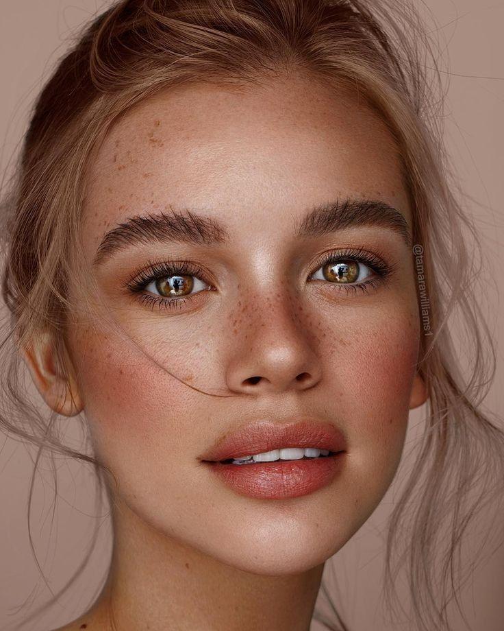 Естественные цвета лица фотоснимки и ошибки