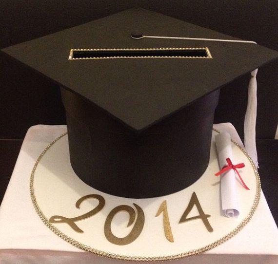 Graduation Card Box on Etsy, $55.00