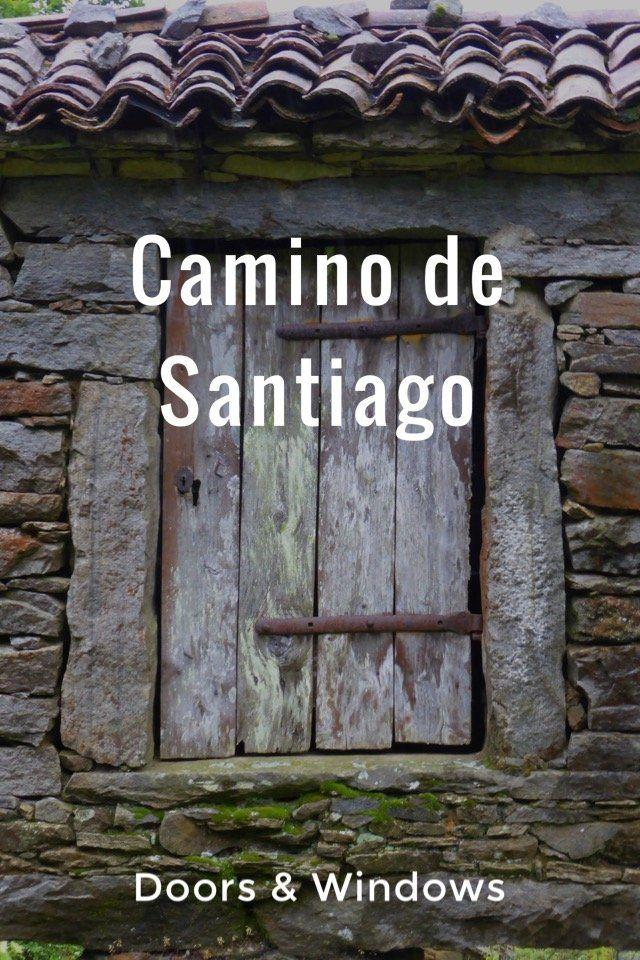 Doors & windows of the Camino de Santiago