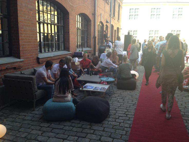 #desingnersaturday2013 in Oslo - Conic lounge garden furniture from #Caneline