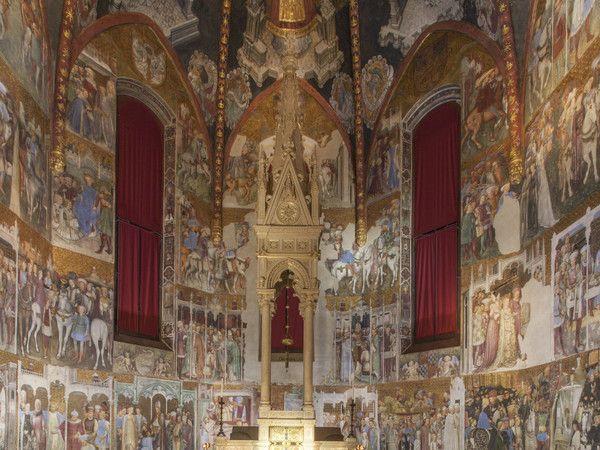 Cappella di Teodolinda. © Museo e Tesoro del Duomo di Monza/foto Piero Pozzi