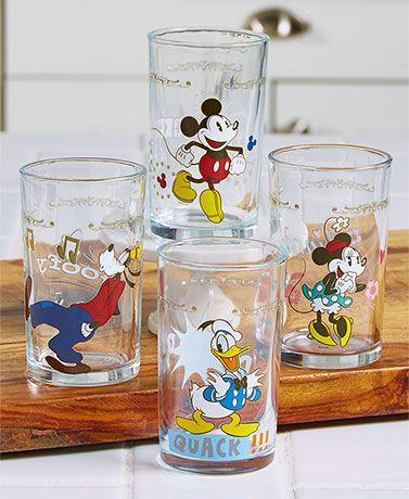Sets Of 4 Disney Juice Glasses · Kitchen SuppliesFriends ...