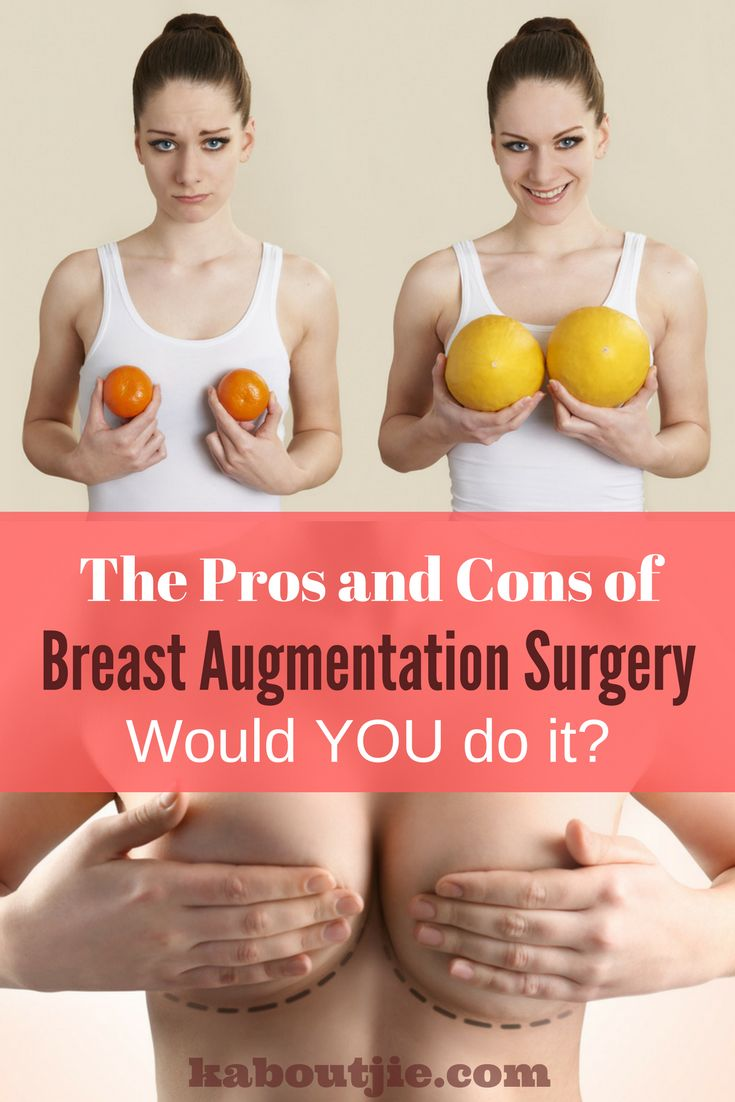 Breast Augmentation Surgery is becoming increasingly popular - if you are thinking about having a boob job you really need to look carefully at the pros and cons of breast augmentation surgery as well as the recovery time after your surgery.   #BreastAugmentation #BreastAugmentationSurgery #BoobJob #ProsConsBreastAugmentation