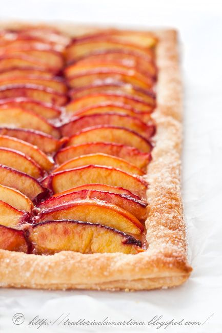 Rustic Tart with Nectarines - Martha Stewart